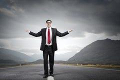 That feeling of triumph success Stock Photos