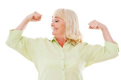 Feeling young and healthy. Stock Photos