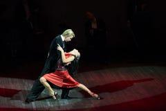 Feelings in dance Royalty Free Stock Image