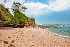 Feenhafte Bucht Paignton Devon Lizenzfreie Stockfotos