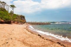Feenhafte Bucht Paignton Devon Stockfotografie
