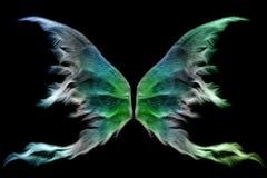 Feenhafte Flügel Stockfotos