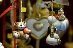 Feenhafte Geschenke bei Christmaseve in Österreich Lizenzfreie Stockfotos