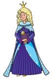 Feenhafte Königin oder Prinzessin der Schönheit Lizenzfreie Stockbilder