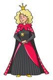 Feenhafte Königin oder Prinzessin der Schönheit Lizenzfreies Stockbild