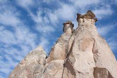Feenhafte Kamine Lizenzfreies Stockbild