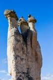 Feenhafte Kamine Stockfotografie
