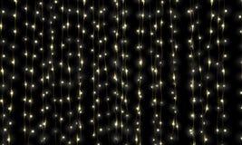 Feenhafte Leuchte-Kaskade Stockfoto