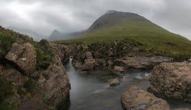 Feenhafte Pools, Insel von Skye Scotland lizenzfreies stockfoto