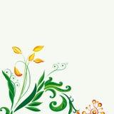 Feenhafter Blumenhintergrund Stockfoto