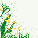 Feenhafter Blumenhintergrund Lizenzfreies Stockfoto
