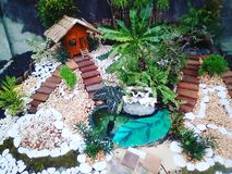 Feenhafter Garten Stockfoto