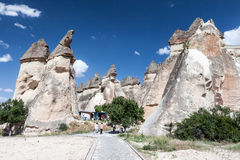 Feenhafter Kamin Cappadocia Lizenzfreie Stockbilder