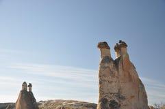 Feenhafter Kaminfelsen Stockfoto