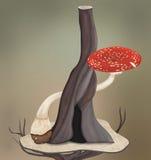 Feenhafter Wald Stockbilder