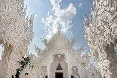 Feenhafter weißer Tempel Stockbild