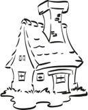 Feenhaftes Haus Lizenzfreies Stockfoto