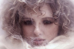 Feenhaftes weibliches Porträt. Lizenzfreie Stockbilder