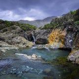 Feepools, Eiland van Skye, Schotland royalty-vrije stock afbeeldingen