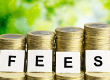 Fees Royalty Free Stock Photography
