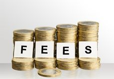 Fees Royalty Free Stock Images
