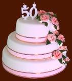 Feest cake Royalty-vrije Stock Afbeeldingen
