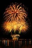 Feest helder vuurwerk Stock Fotografie
