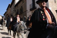 Feest. LA CABALLADA. Spanje Stock Foto