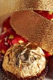 Feest samenstelling van snoepjes stock afbeelding