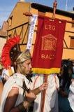 FEEST van BACCHUS. Burgos .SPAIN Royalty-vrije Stock Afbeelding
