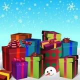 Feest van Kerstmis vector illustratie