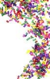 Feestelijk de vierings nieuw jaar van confettien stock foto