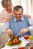 Feestelijk diner royalty-vrije stock afbeelding