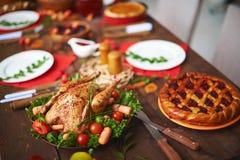 Feestelijk diner Stock Foto's