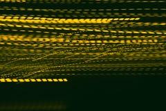 Feestelijk geel fonkelend behang Royalty-vrije Stock Foto
