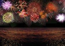 feestelijk Nieuwjaar Stock Foto