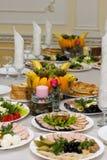 Feestelijk voedsel Royalty-vrije Stock Afbeeldingen