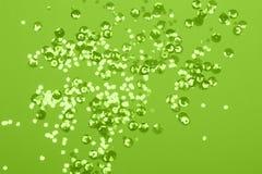 Feestelijke achtergrond in pastelkleur groene kleur royalty-vrije stock fotografie