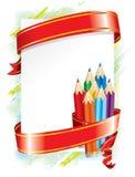 Feestelijke achtergrond (vector) Stock Foto