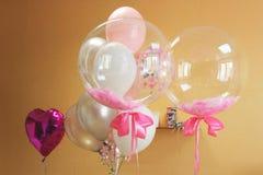 Feestelijke ballons Mooie ballons royalty-vrije stock fotografie