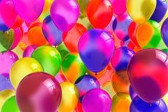 Feestelijke ballons voor verjaardagen en andere viering Royalty-vrije Stock Foto's