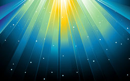 Feestelijke blauwe vierkante samenvatting stock illustratie
