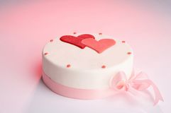 Feestelijke cake Stock Foto