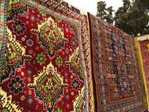 Feestelijke eerlijke Nowruz aan Baku, Azerbeidzjan Royalty-vrije Stock Afbeeldingen
