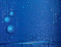 Feestelijke Kerstmisachtergrond Stock Foto