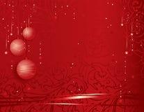 Feestelijke Kerstmisachtergrond royalty-vrije illustratie