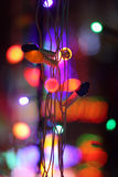 Feestelijke lichten Royalty-vrije Stock Afbeeldingen
