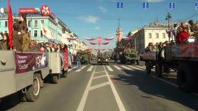 Feestelijke parade stock videobeelden