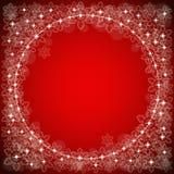 Feestelijke rode achtergrond Royalty-vrije Stock Fotografie