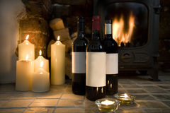 Feestelijke Wijn Stock Afbeeldingen